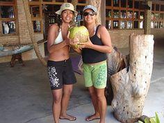 Maior coco do Brasil - Fazenda Alegria - Prado - BA