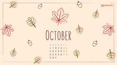 October Calendar Themes