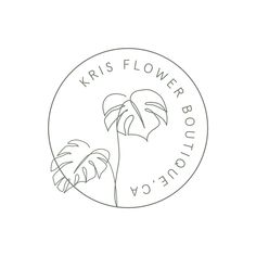 Logo Minimal, Minimal Logo Design, Branding Logo Design, Custom Logo Design, Corporate Branding, Identity Design, Brand Identity, Logo Fleur, Logo Instagram