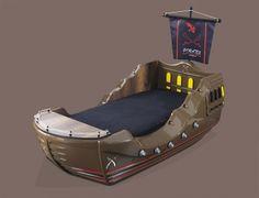Kinderbett piratenschiff  Piratenschiff Kinderbett Caribbean | besondere Kinderbetten ...
