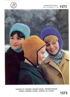 Vintage crocheting patterns
