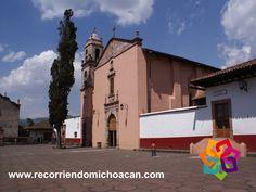 En Santa Clara del Cobre, puede visitar el Templo de Nuestra Señora del Sagrario, dedicado a Santa Clara de Asís, la cuál es la patrona de los artesanos. Su interior esta adornado con candelabros y milpas de maíz de cobre. Al cruzar la calle, se encuentra el Templo de la Inmaculada Concepción, en dónde esta la Huatápera, con la capilla más antigua del pueblo. BEST WESTERN DON VASCO PÁTZCUARO http://www.bwposadadonvasco.com.mx/