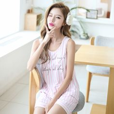 Buy SHIRLEY Loungewear Set: Printed Tank Top + Shorts at YesStyle.com! Quality products at remarkable prices. FREE Worldwide Shipping available!