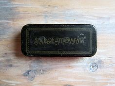 Vintage Standard Attachments Tin and Contents by NaturalVintage
