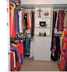 Great tips for de-cluttering your closet! #tips #organize #home #closet
