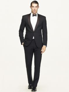 Anthony Shawl-Collar Tuxedo - Black Label Suits - RalphLauren.com