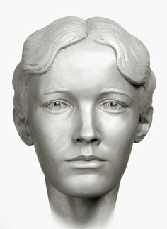 A forensic facial reconstruction of Grand Duchess Olga by S.A. Nikitin, 1994.
