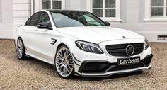 Carlsson Gives Mercedes-AMG C63 S New Aero Kit 625 PS