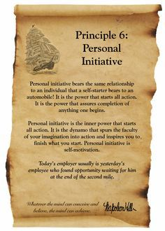 Principle 6 | 17 Principles of #Success - Napoleon Hill | #motivate #inspire -1
