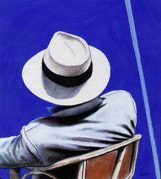 La figura del viajero    Eduardo Úrculo es un pintor español. Su obra esta expuesta en los principales museos de arte contemporáneo y sus exposiciones han recorrido las principales ciudades del mundo.    Es uno de los máximos exponentes de la pintura pop española. Un artista que retrató a un ser humano itinerante, utilizando el equipaje y el sombrero, como una referencia romántica.