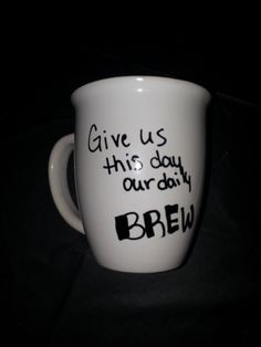 Give us this day, our daily BREW