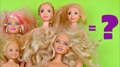 Rescued Barbie │ Rescue dolls │ Doll rescue │ How to clean a doll │ DIY ...