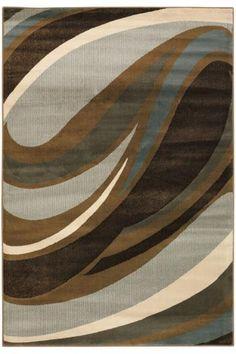 Curve rug (as long as it's true blue, not aqua blue)