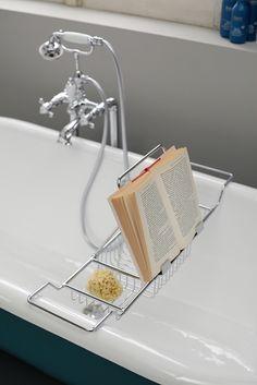 porte savon haut pour douche by Bleu Provence