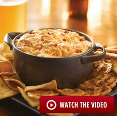 FRANK'S® REDHOT® BUFFALO CHICKEN DIP I used baked chicken breast marinated in the Franks, 1 c. of Franks (we like it hot) and going to try it served over baked potatoes! :-)