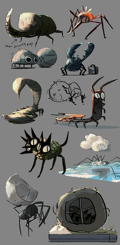 evonyo - bug doodles that got out of hand… lol