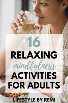 16 mindfulness activities for adults to reduce stress and create a sense of calm. Mindfulness means being present and paying attention to what's happening right now. I love this post because it lists different mindfulness activities and not just meditation. #mindfulness #mindfulnessactivities Mental Health Plan, Health And Wellness, Wellness Tips, Development Quotes, Self Development, Personal Development, Life Advice, Relationship Advice, Self Goal