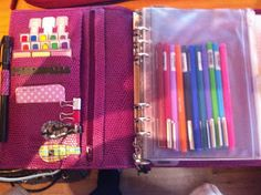 Confessions of A Dublin Lassie: Getting Organised For College the Filofax Way