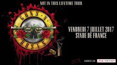 Guns N' Roses au Stade de France le vendredi 7 juillet 2017