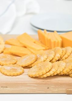Light, buttery and salty, these gluten free crackers taste just like Nabisco Ritz—but they're gluten free. Cheese's favorite cracker!