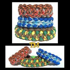 My Zelda Paracord Bracelet Trio  ThrowinWristicuffs.com