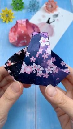 Diy Crafts Hacks, Diy Crafts For Gifts, Diy Home Crafts, Diy Arts And Crafts, Creative Crafts, Art Crafts, Paper Crafts Origami, Paper Crafts For Kids, Diy Paper