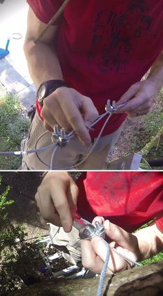Fun DIY Zipline | How To Build Zip Line In The Backyard By Pioneer Settler  At