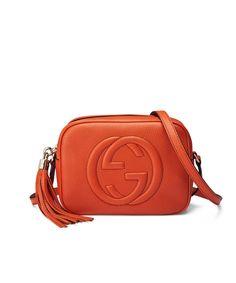 GUCCI Soho Leather Disco Bag Sun Orange'.
