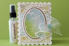 Splitcoaststampers - Tutorials - Goosebumps Texture Spray