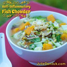 Anti-Inflammatory Fish Chowder
