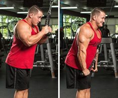 Try Hunter Labrada's effective hacks for tried-and-true arm exercises to maximize your results and add size to your biceps and triceps! Many arm exercises look simple, but looks can be deceiving. Big Biceps, Biceps And Triceps, Dumbbell Workout, Weight Training Workouts, Gym Workout Tips, Cable Workout, Exercise Workouts, Chest Workouts, Body Workouts