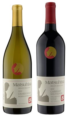 Matsuhisa Chardonnay  Matsuhisa Cabernet