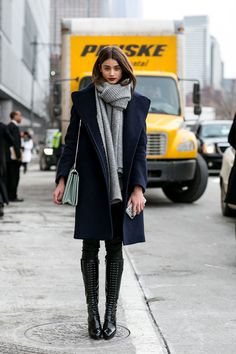 Best Street Style at NYFW Fall 2015 - Best Street Style from New York Fashion Week Fall 2015 - StyleBistro
