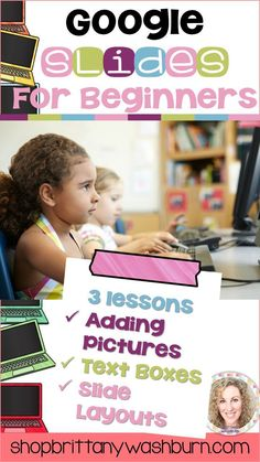 573 best 2nd grade technology images on pinterest labs accounting 3 lessons for any beginner google slides user adding pictures font and text fandeluxe Image collections
