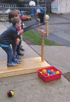 Ball catapult.             Gloucestershire Resource Centre http://www.grcltd.org/home-resource-centre/