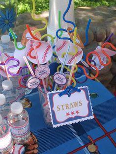 Triply Play Baseball Third Birthday | CatchMyParty.com