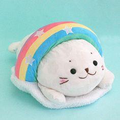 しろたん虹に変身抱き枕【楽天市場】