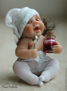 Capitolina – shop online on Livemaster with shipping - Dollhouse Dolls, Miniature Dolls, Dollhouse Miniatures, Life Like Baby Dolls, Life Like Babies, Reborn Dolls, Reborn Babies, Felt Dolls, Doll Toys