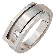 Ladies Ring with Diamond 950 Platinum matte Finger Ring Wessel, Full Eternity Ring, Platinum Ring, Hair Ornaments, Ring Finger, Fine Jewelry, Jewellery, Jewelry Watches, Rings For Men