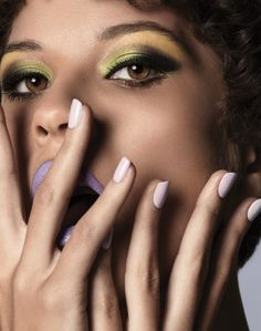 Makeup: Peter Philips & Isamaya Ffrench #beauty #edito 2016