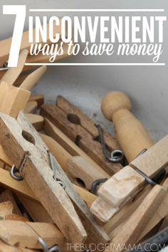 Need to get your budget out of the red but don't know where else you can save? Try one of these inconvenient ways to save money to bring your budget out of the red today.