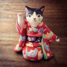 "松本浩子○百々猫堂 on Twitter: ""横浜高島屋 開運招福 招き猫「福の市」"