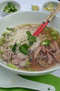 Pho in the crockpot--this looks like an even better recipe