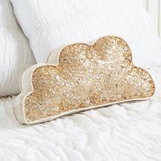 Every cloud has a golden sequin!
