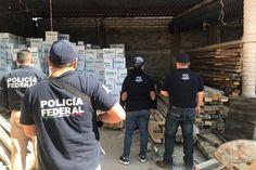 El monto de la mercancía asegurada ascendió a 310 mil pesos, aproximadamente