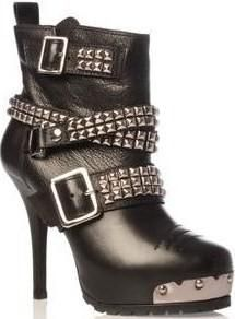 Carvela Skint pyramid stud rock #shoes #booties #boots