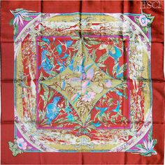 PHOTOS HERE / Designer/Artist / Laurence Bourthoumieux | HSCI Hermes Scarf Photo Catalogue