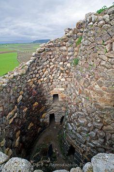 Sardinian Nuraghe, Su Nuraxi, Barumini, Sardinia, Italy