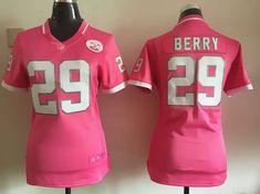 0c59c4944 Womens Kansas City Chiefs 29 Berry 2015 Pink Bubble Gum Jerseycheap nfl  jerseys