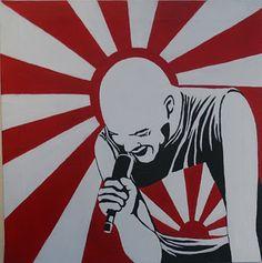 Luca Los Rolling Stones, Alternative Rock Bands, Post Punk, Punk Rock, Graphic Illustration, Rock N Roll, Pop Art, Street Art, 1